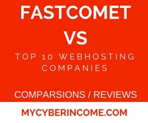 Fastcomet hosting comparsion
