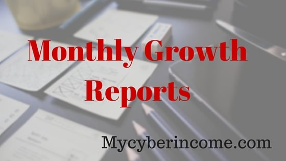 blog monthly growth reports