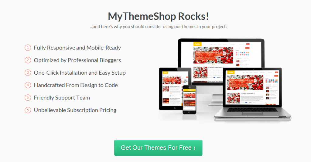 MyThemeShop review Responsive Premium WordPress Themes