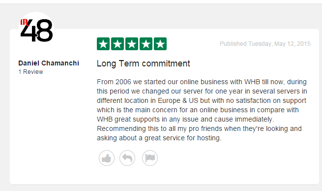 trustpilot review webhostingbuzz