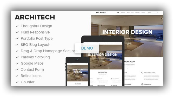 ARCHITECT wordpress business theme