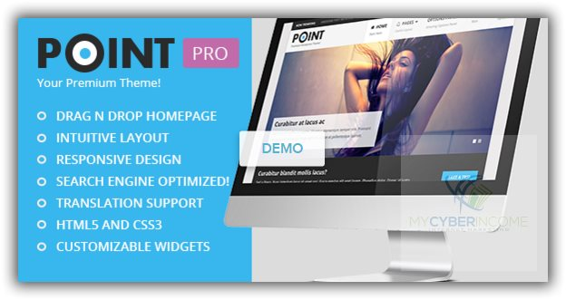 best business drag and drop wordpress theme