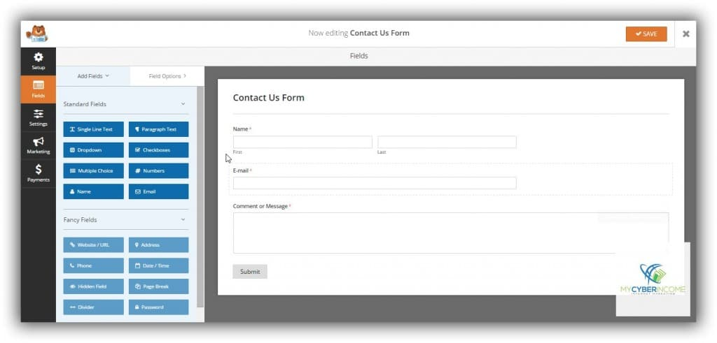 wpforms forms creation