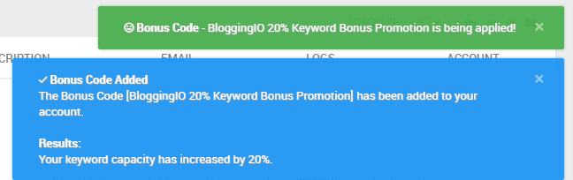 bonus-code-bloggingio-discount-serpwoo