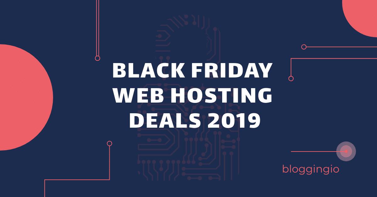 Black Friday Web Hosting Deals 2020