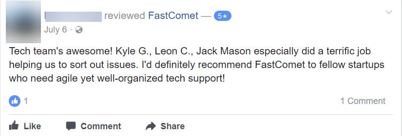 FastComet Review: Honest Opinion After 40 Months Usage 23