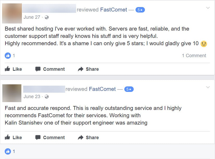 FastComet Review: Honest Opinion After 40 Months Usage 25