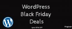 WordPress Black Friday Deals 2019