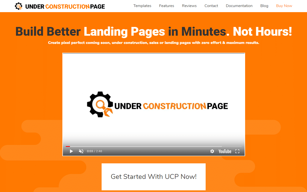 Under Construction Page - Best Maintenance Page Plugin? 5