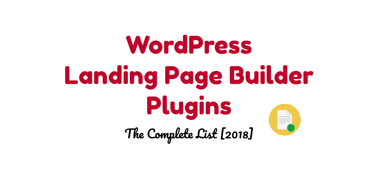 Best WordPress Landing Page Builder