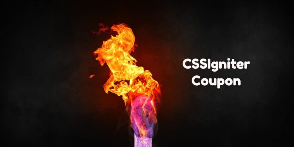CSSIgniter Coupon