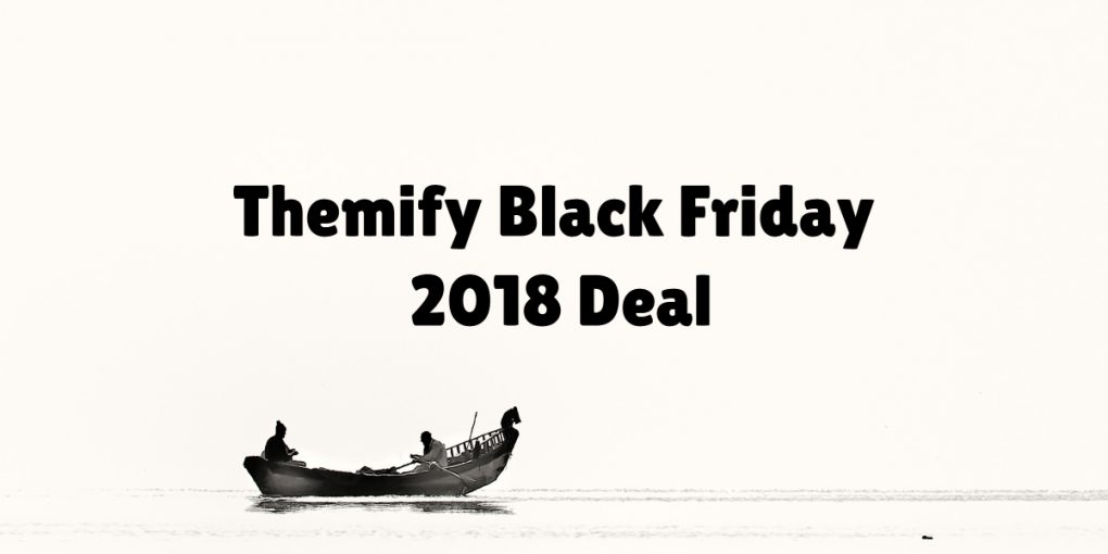 Themify Black Friday