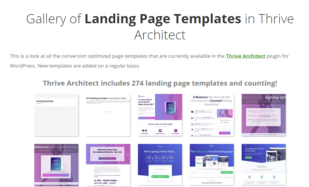 Thrive Architect Review: Pricing & Templates 10