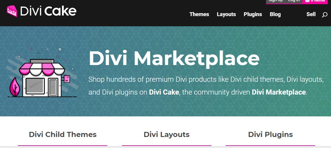 5 Best Divi Marketplaces to Buy Divi Child Themes & Layout 1