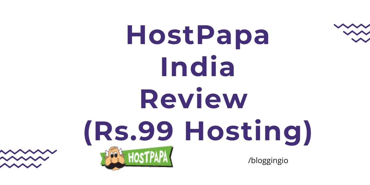 HostPapa India Review