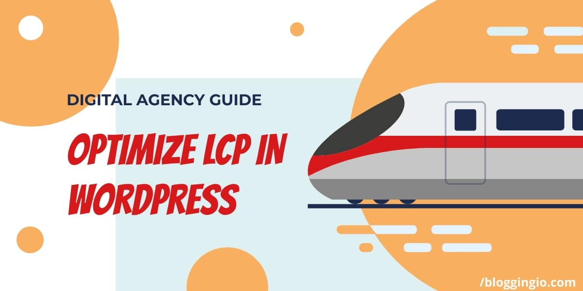 Optimize LCP in WordPress