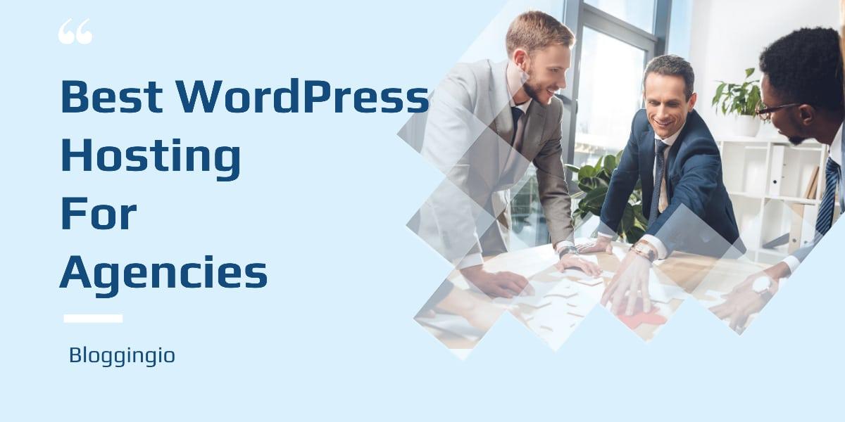 WordPress Hosting For Agencies