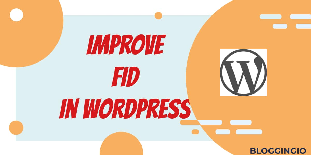 Optimize FID WordPress