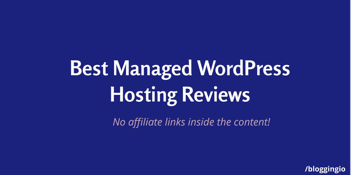 Best Managed WordPress Hosting Review