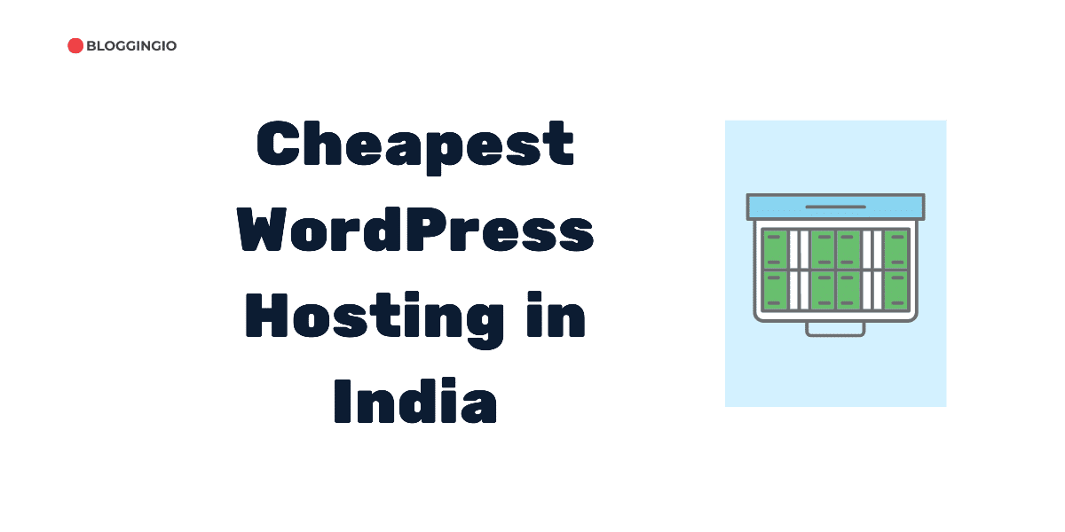 Cheapest WordPress Hosting India