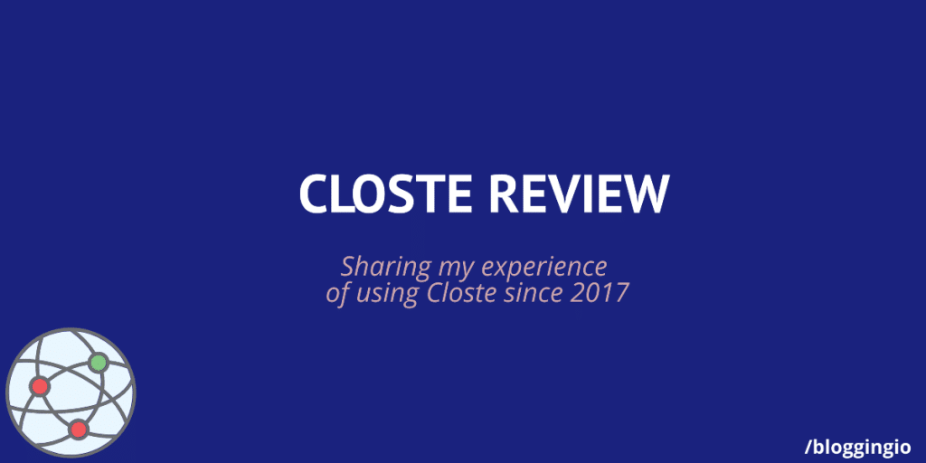 Closte Review