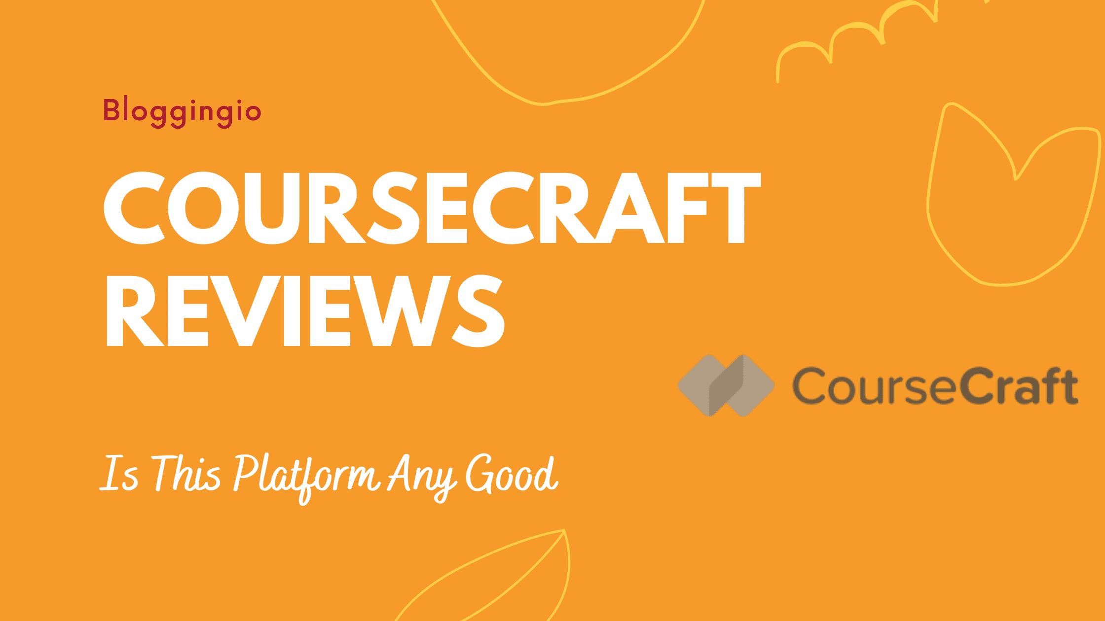 CourseCraft Reviews