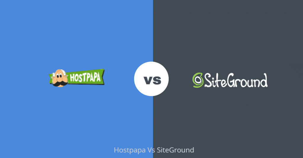 Hostpapa vs SiteGround