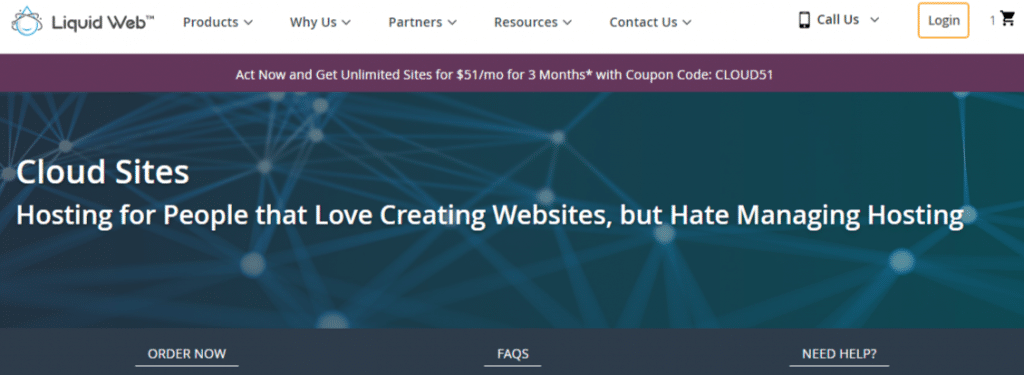 Liquid Web Cloud Sites Hosting
