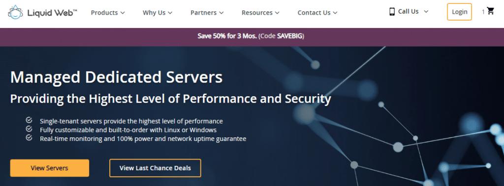 Liquid Web Dedicated Server Pricing