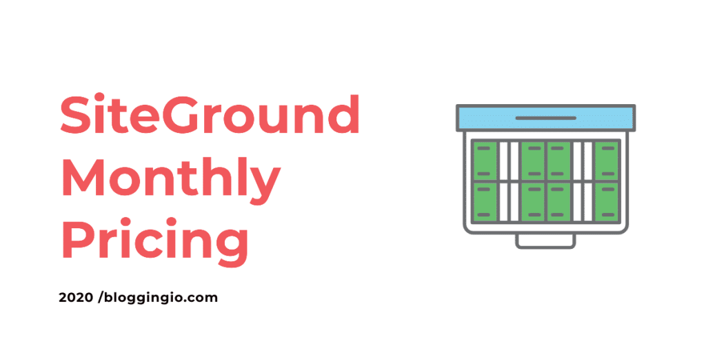 SiteGround Monthly Billing