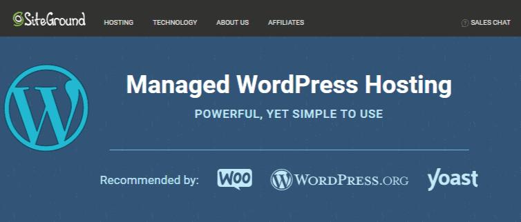 SiteGround WordPress Home
