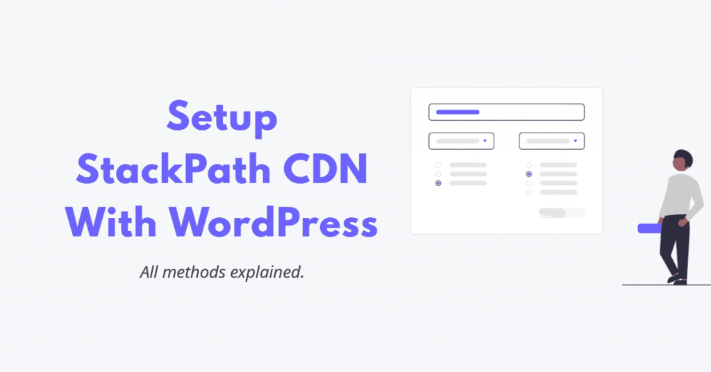 StackPath CDN WordPress Setup