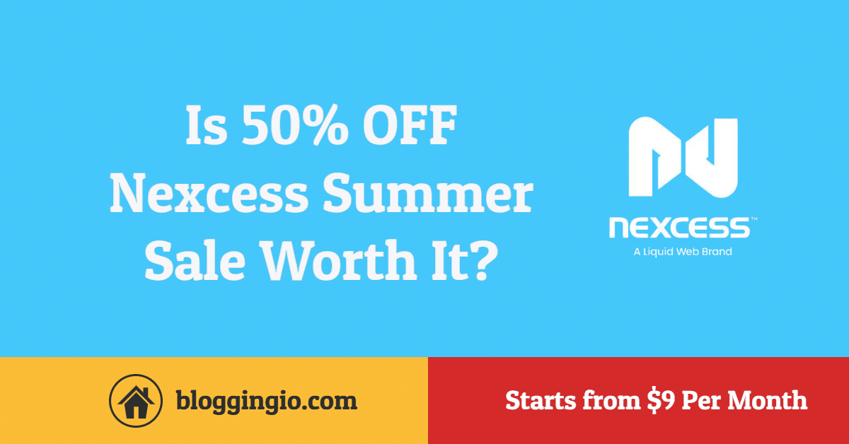 Nexcess Summer Sale 2020