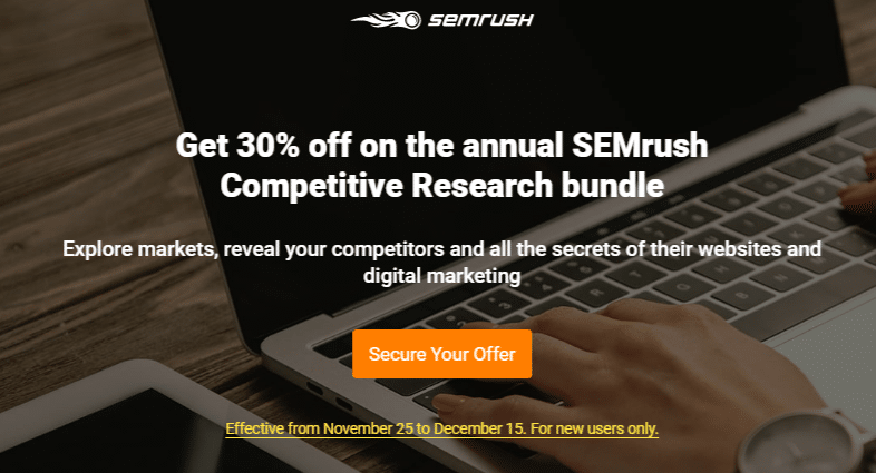 SEMrush Competitive Research bundle