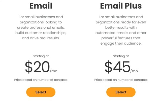 Constant Contact Black Friday Pricing