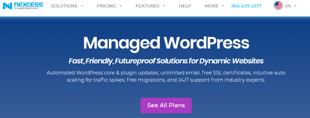 Nexcess Managed WordPress Plans
