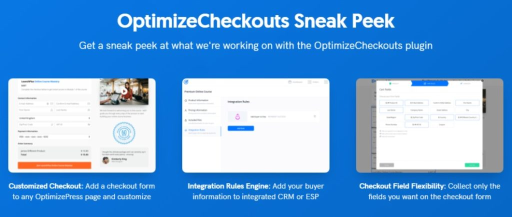 OptimizeCheckouts plugin