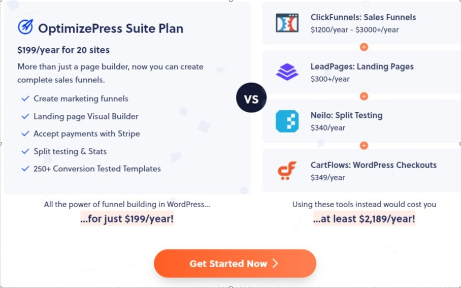 OptimizePress Suite Plan