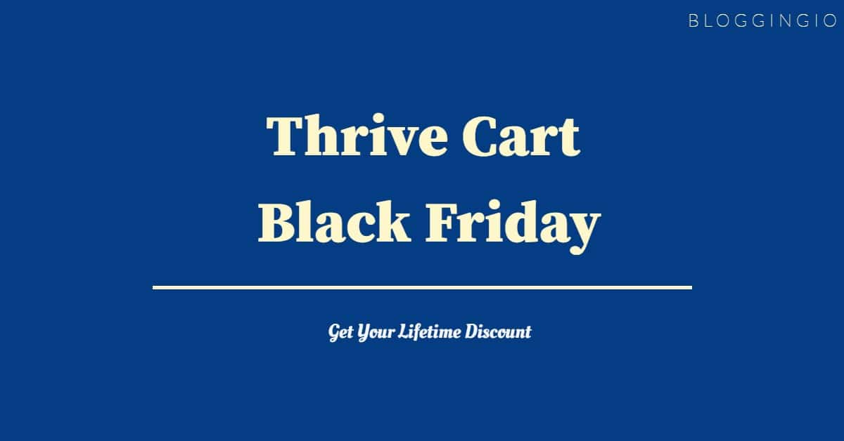 Thrive Cart Black Friday