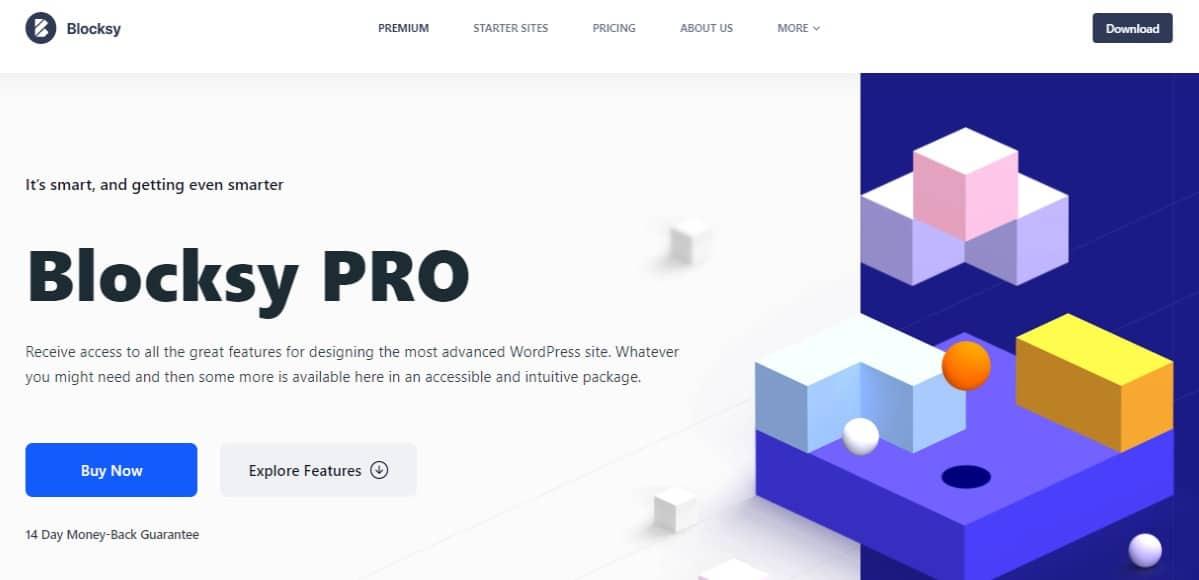 Blocksy theme wordpress
