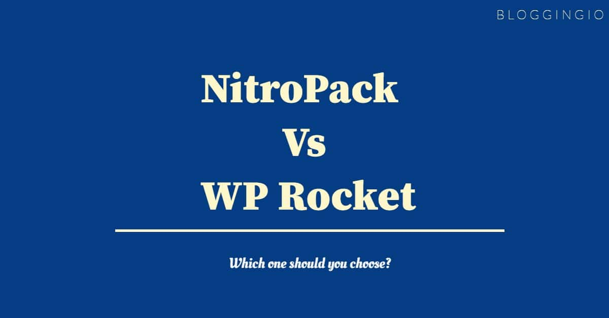 NitroPack Vs WP Rocket