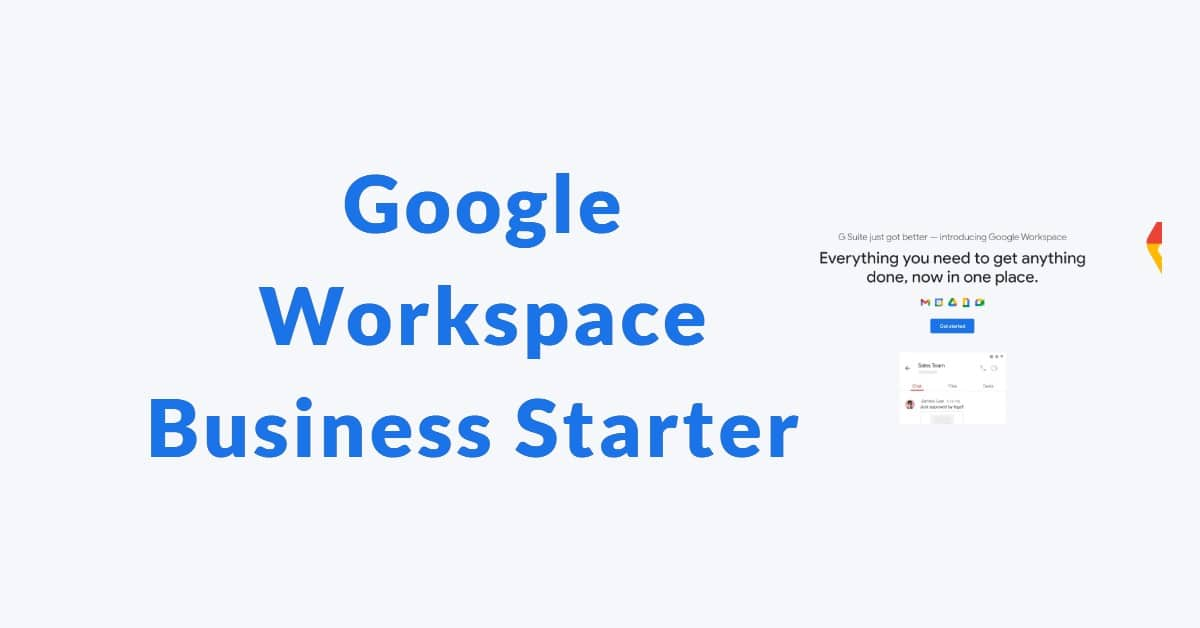 Google Workspace Business Starter