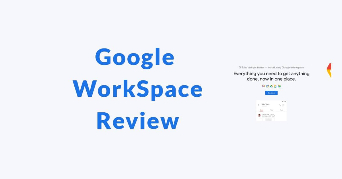 Google Workspace Review