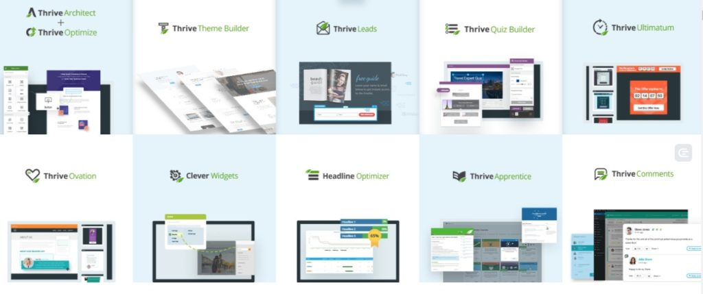 Thrive Suite of Tools